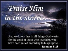 Praise Him in Storms